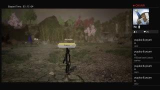 Toukiden Kiwami game broadcast thing 1