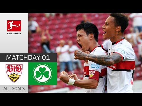 Goal Fest in Stuttgart | VfB Stuttgart - Fürth 5:1 | All Goals | MD 1 – Bundesliga 21/22