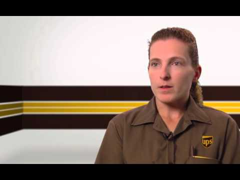 UPS Package Delivery Driver Michelle 4