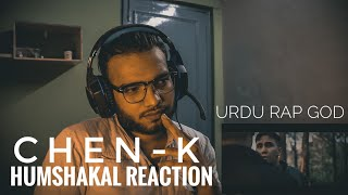 INDIAN REACTION ON CHEN-K - HUMSHAKAL | URDU RAP REVIEW | PAKISTANI HIP HOP | TCRH