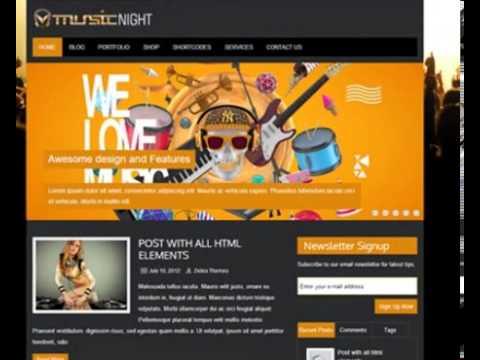 Free Music WordPress Theme For Download