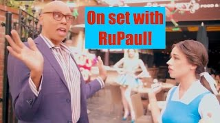 ON SET WITH RUPAUL!