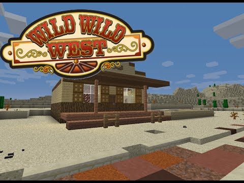Minecraft Tutorial :: Old Western town - Sheriff's Office