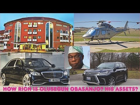 How Rich is Olusegun Obasanjo? ► All Obasanjo's Mansion, Cars, Companies, Real Estate & Luxuries