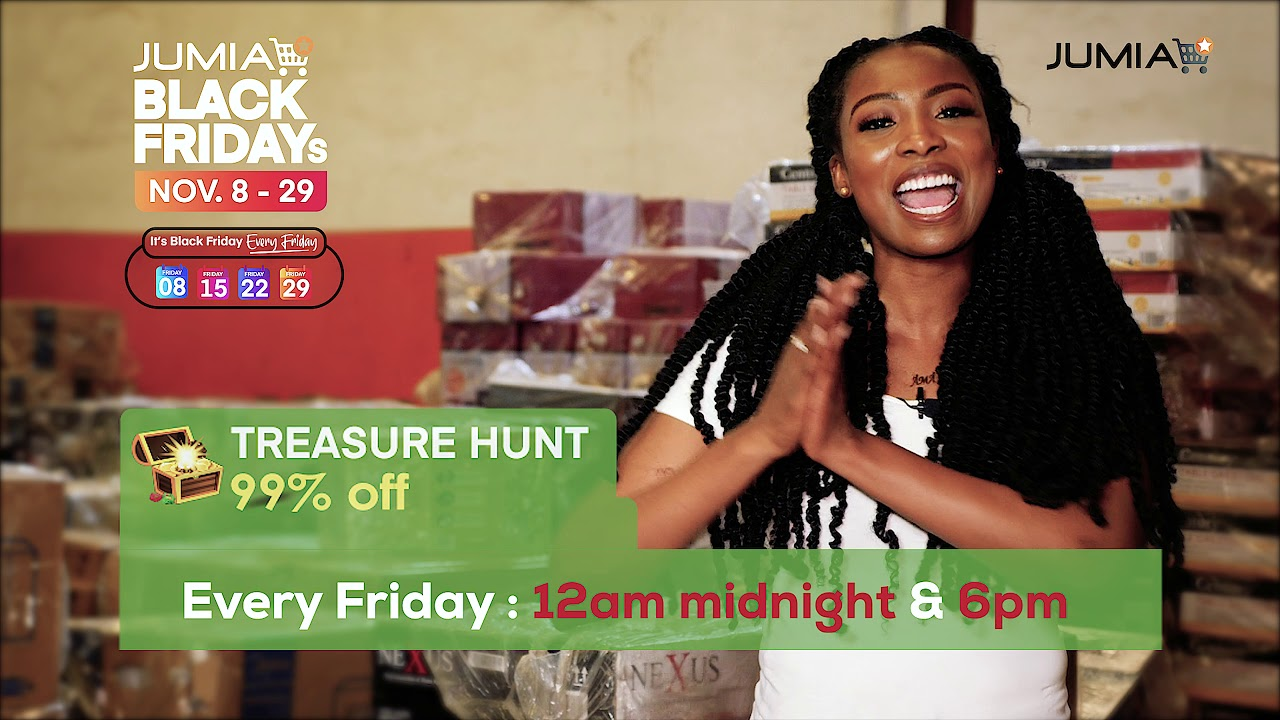 Jumia Black Friday 2019 Treasure Hunt Explained - Jumia Nigeria