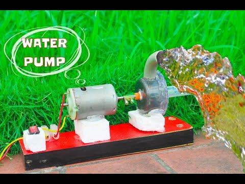 How To Make  High Power Mini Water Pump At Home - Mini Centrifugal Pump
