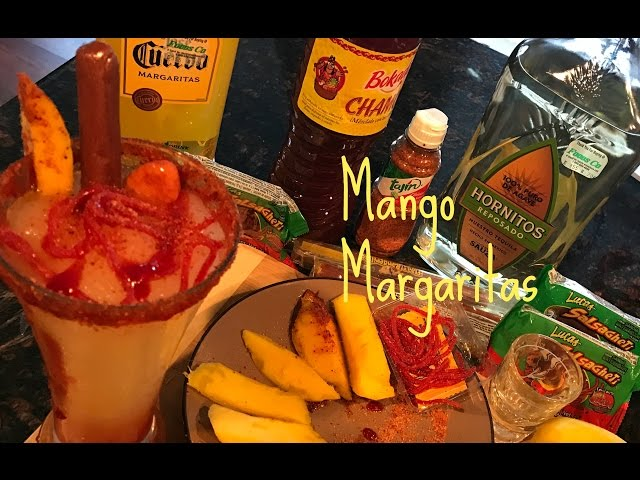 HOW TO: Make mango margaritas/V-LOG