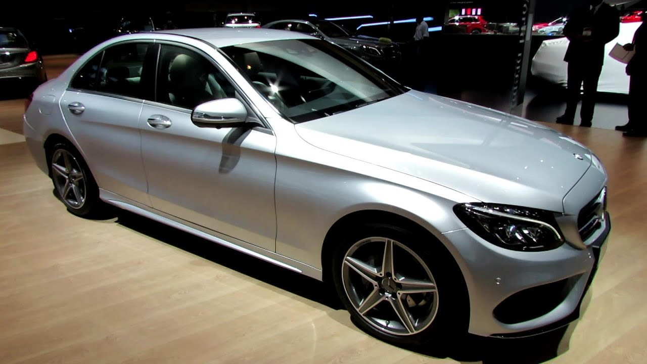 2015 mercedes-benz c-class c200 - exterior and interior walkaround