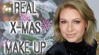 realistisches natürliches Weihnachts Make up Heiligabend | Style and Talk | Mamacobeauty