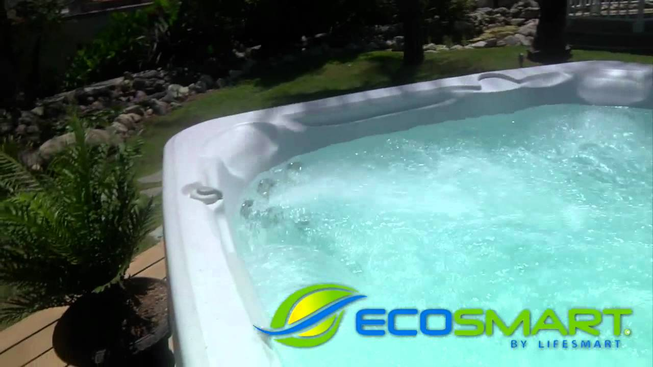 Lifesmart Exclusive Home Depot Spas & Hot Tubs - YouTube