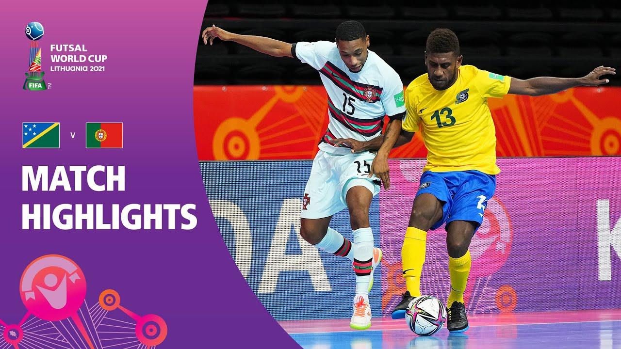 Download Solomon Islands v Portugal | FIFA Futsal World Cup 2021 | Match Highlights