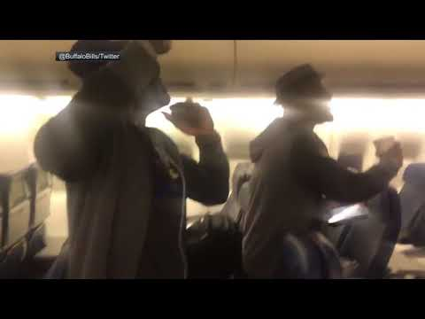 NFL Must-See: Buffalo Bills get lit on team plane after clinching playoff berth   ESPN