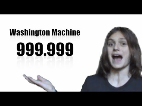 Washington Machine Advertisement
