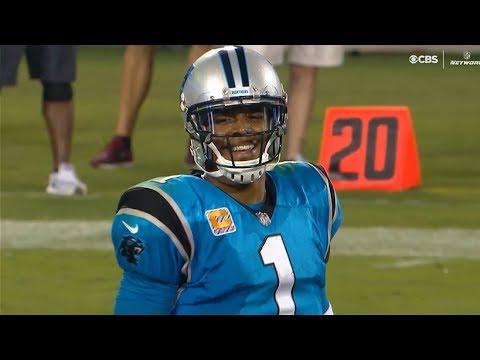 Cam Newton 28-52, 239 Yds, 1 TD Highlights vs Eagles / NFL Week 6 / Panthers vs Eagles