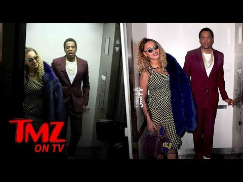 Jay-Z And Beyonce - Elevator Part 2! | TMZ TV