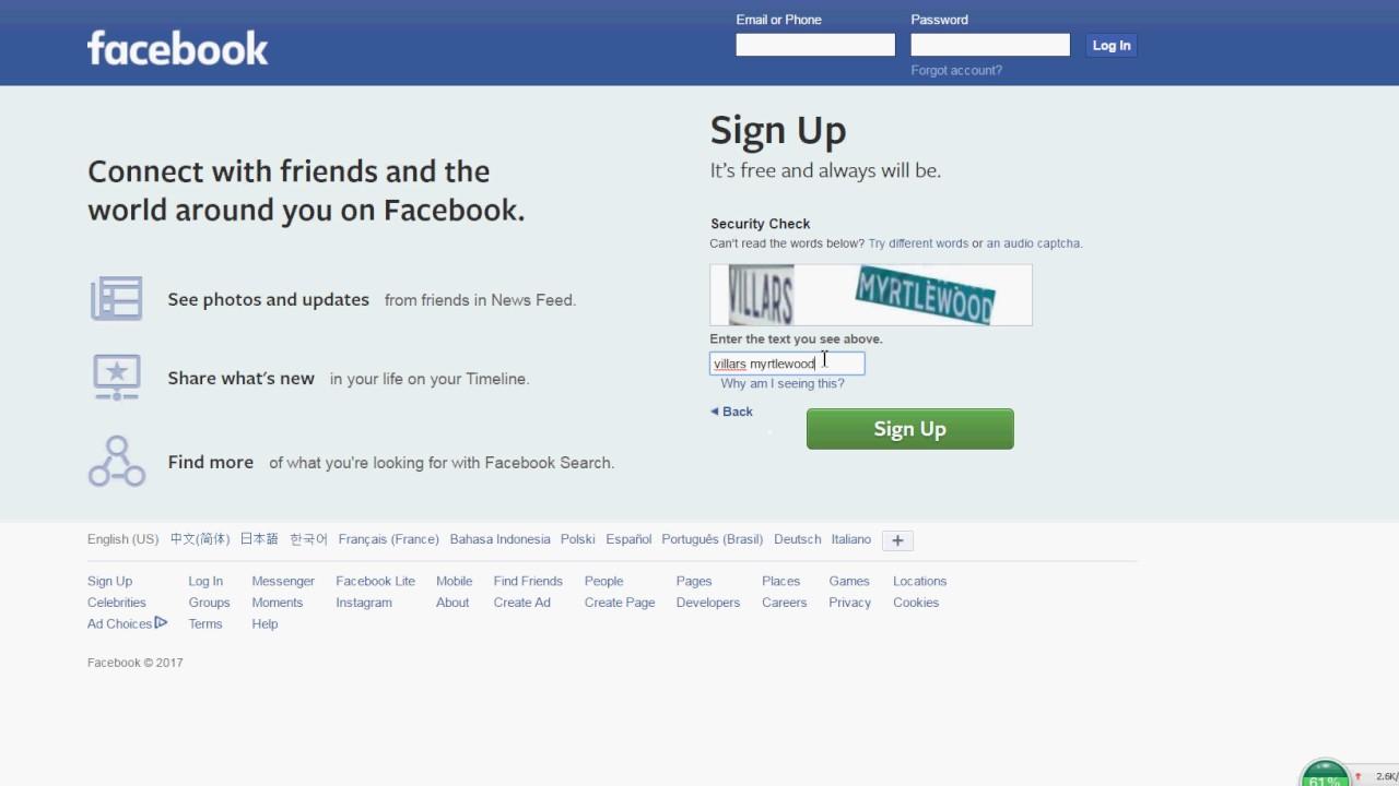Bypass Facebook Phone Verification