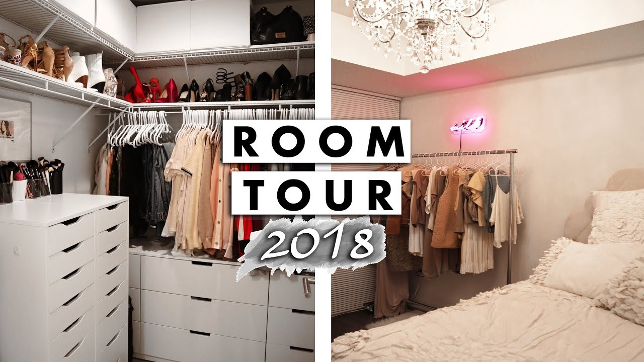 Download Bedroom and Closet Tour 2018   Jaclyn Forbes