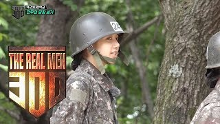"Lisa, Say Something To The Opposing Team! ""Please speak slowly..!"" [The Real Men 300 Ep 4]"