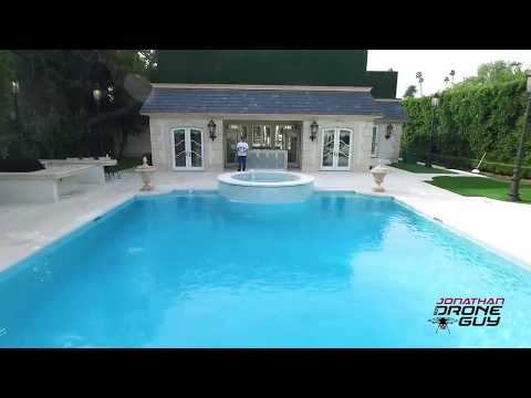 $34,900,000 Beverly Hills Home - Los Angeles Real Estate Drone Photography