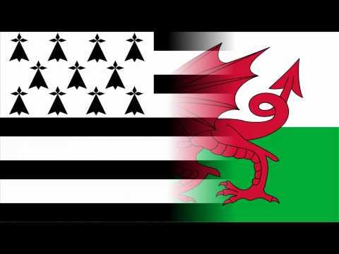 National Anthem Of Wales Regional Anthem Of Brittany Youtube