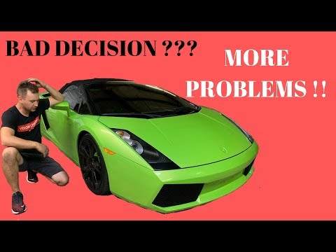 Lamborghini Gallardo Flooded Rebuild From Auction ( Part 3 )