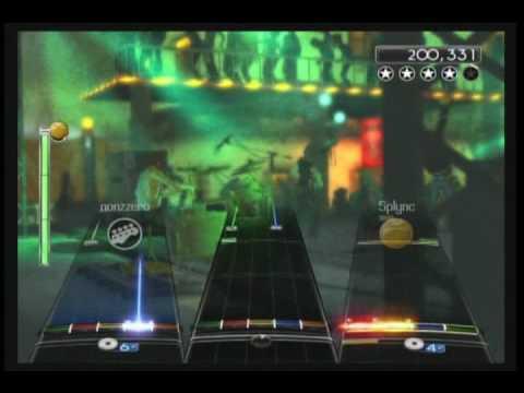 Paralyzer  Finger Eleven  Rock Band 2  Expert Guitar, Bass & Drums