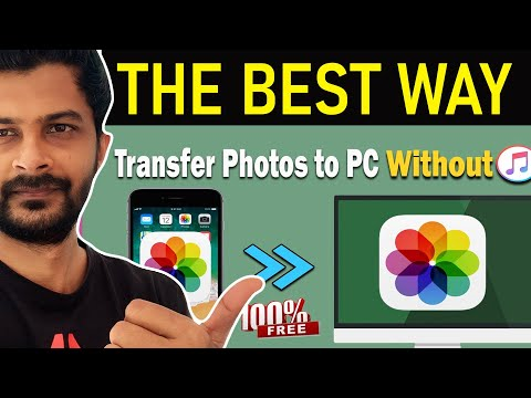 How to Transfer Photos from iPhone to PC without iTunes Windows 10.