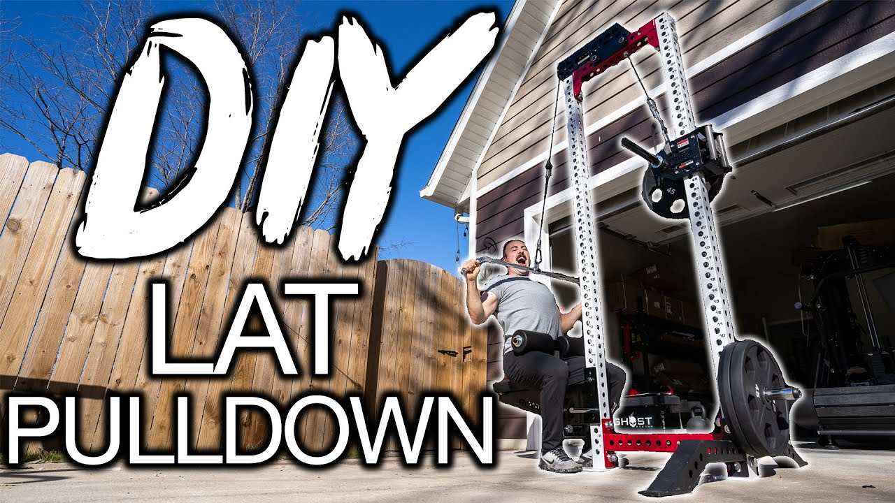 How To: DIY LAT PULLDOWN - Stand Alone & Plate-Loaded!