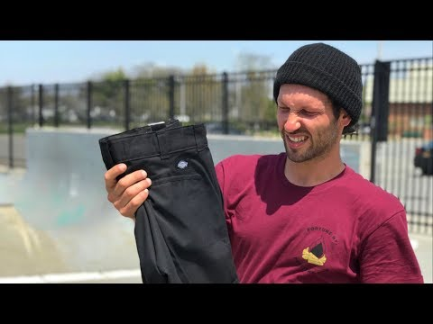 My First Time Skating In Dickies Pants
