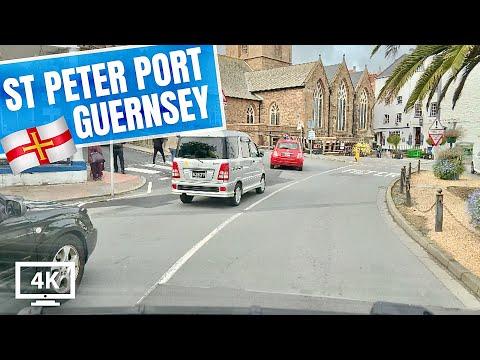 A Drive Through Beautiful St Peter Port Guernsey Channel Islands 🇬🇬