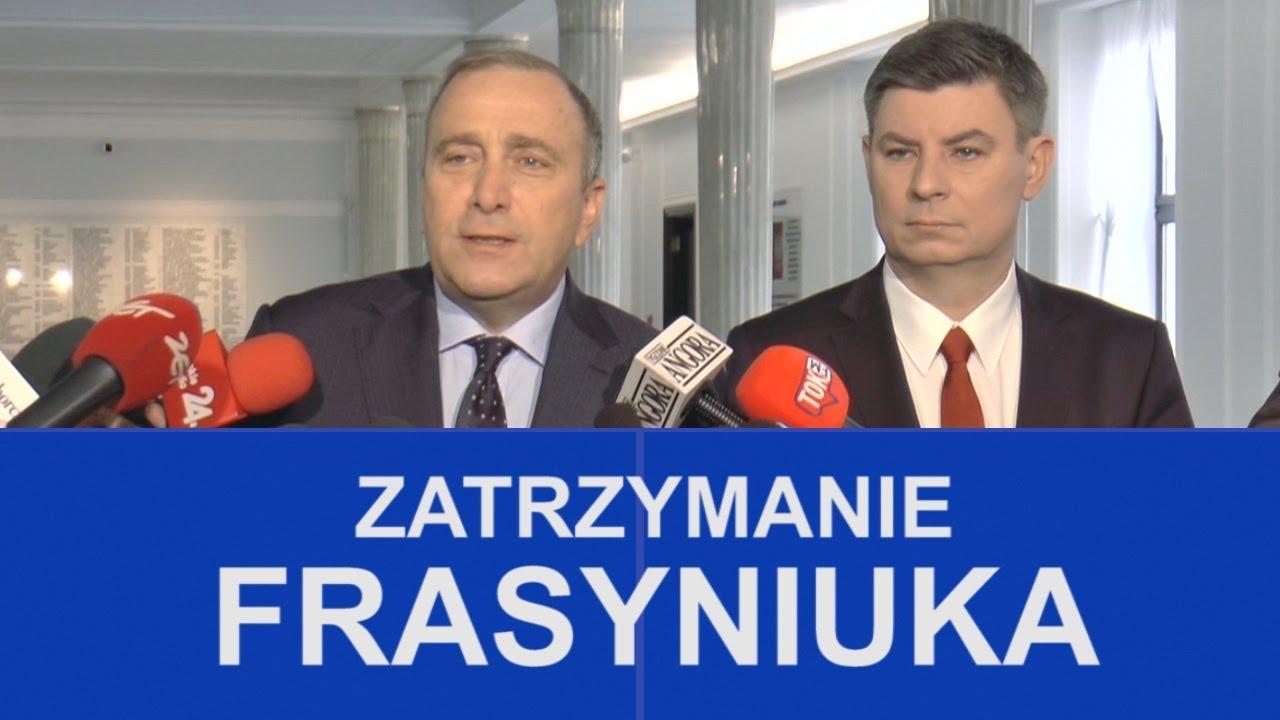 Grzegorz Schetyna o zatrzymaniu Władysława Frasyniuka