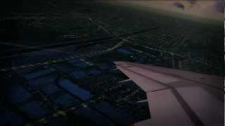 ✈【HD FSX】KLGB A320 takeoff