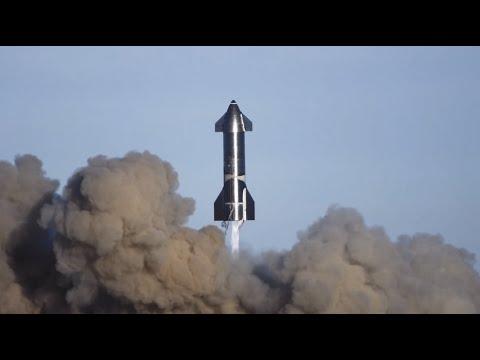 Starship   SN8   High-Altitude Flight Recap