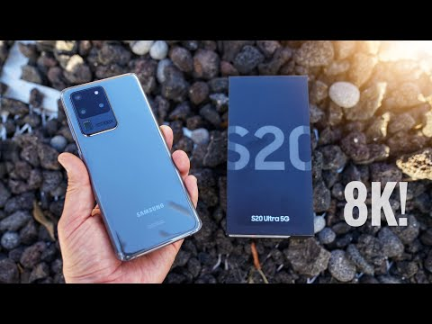 Samsung Galaxy S20 Ultra Unboxing And Camera Test: Photo + 8K Video!