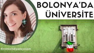 İTALYA   BOLONYA''DA ÜNİVERSİTE OKUMAK