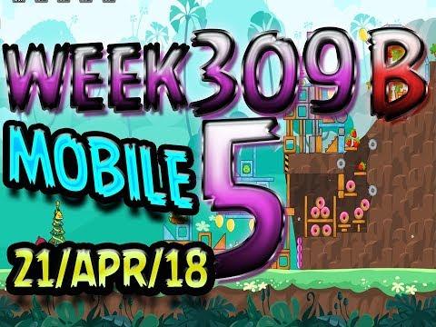Angry Birds Friends Tournament Level 5 Week 309-B PC Highscore POWER-UP walkthrough