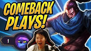 The 1HP COMEBACK! | TFT | Teamfight Tactics ft OfflineTV & xChocobars | League of Legends Auto Chess