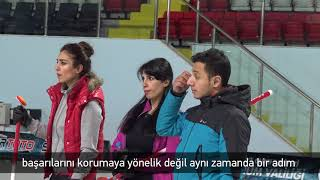 TMOK Desteğiyle Curling Ulusal Antrenör Gelişim Programı'nın İlki Erzurum'da Yapıldı