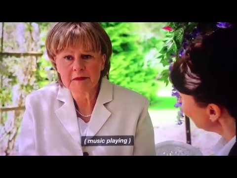 Tracey Ullman as Angela Merkel. Super funny show!