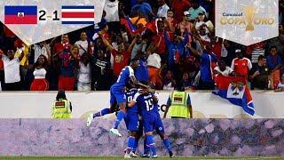 Haití evita a México | Haití 2 - 1 Costa Rica | Copa Oro - Grupo B | Televisa Deportes