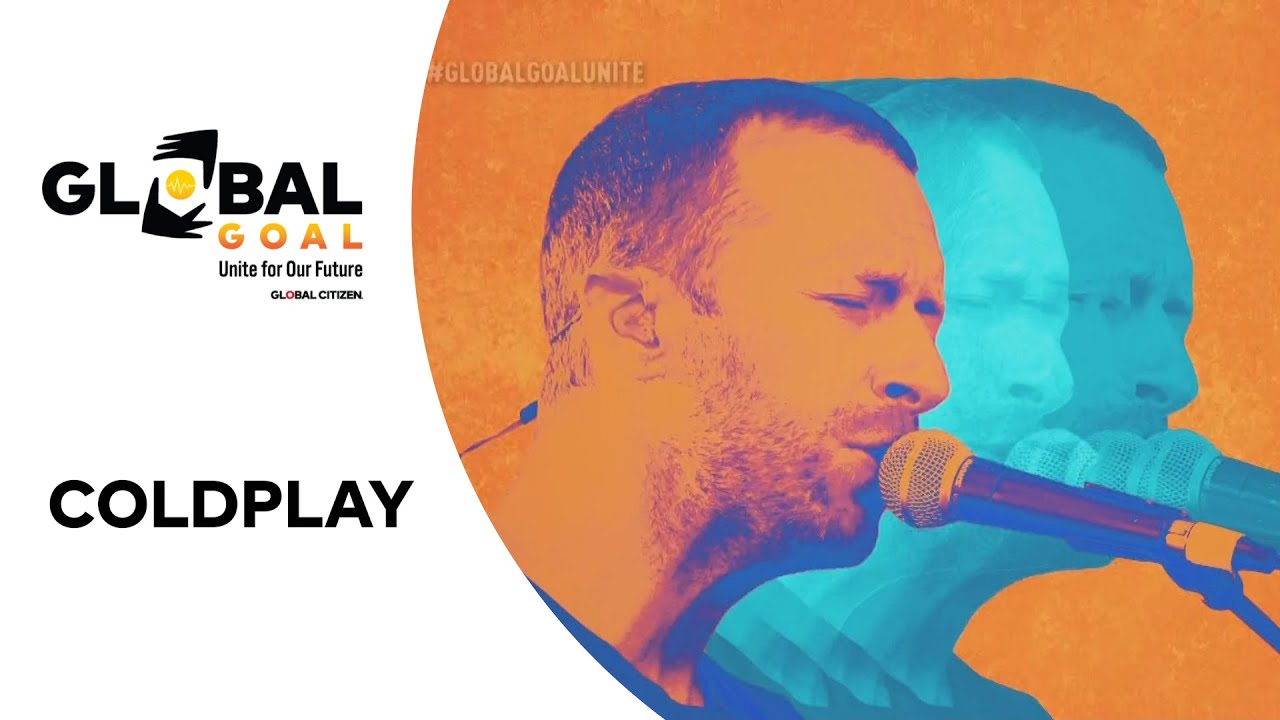"Coldplay Perform ""Paradise"" 