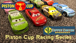 Piston Cup Racing Series PCRS | Race 4/7 CopperCanyon Speedway Stop Motion