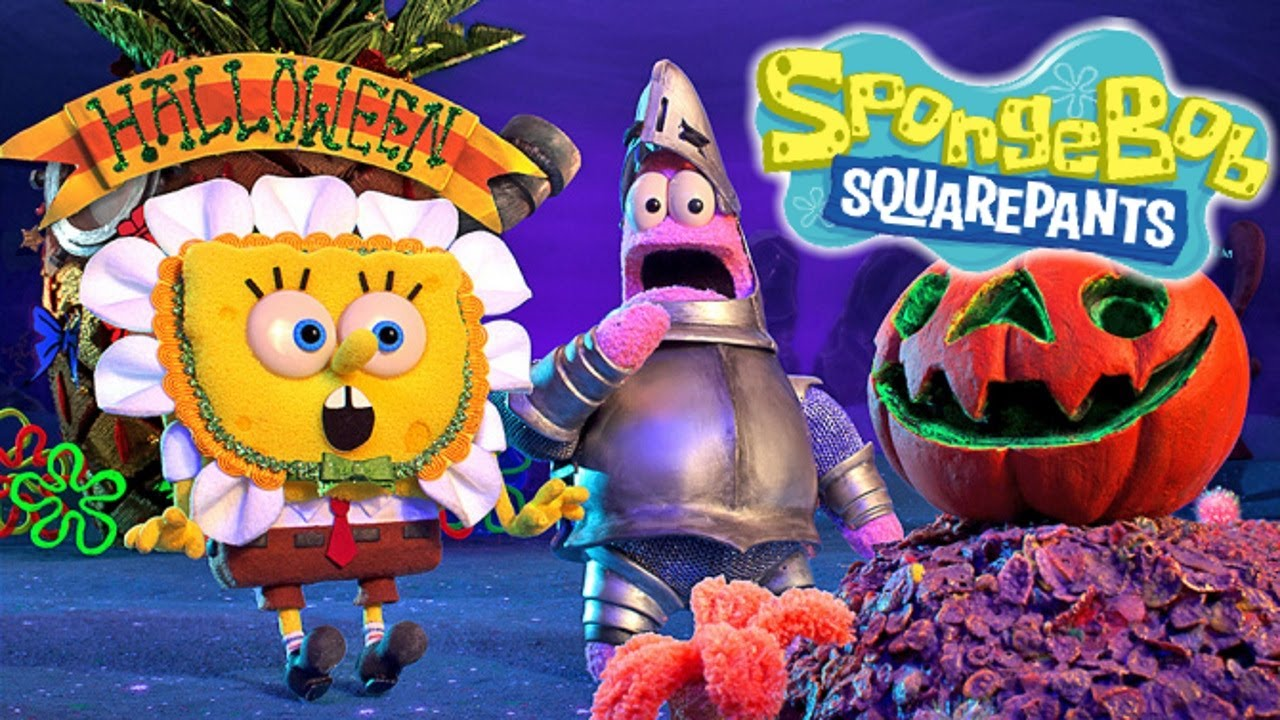 upcoming spongebob stop-motion halloween special - youtube