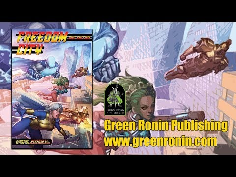 Game Geeks #301 Mutant and Masterminds 3E Freedom City by  Green Ronin