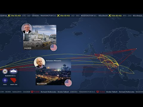 MAPPING THE DAYTON PEACE ACCORDS  - Video Documentary Animation