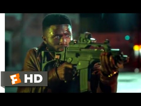 The First Purge (2018) - Fire Fight Scene (4/10) | Movieclips