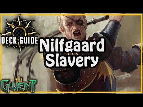 Nilfgaardian Slavery Deck Guide + Gameplay | Gwent Midwinter Update PS: KBT is Chicken!