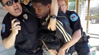 Alabama north port police beat man up at his home