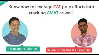 How to Extend my CAT prep into GMAT?