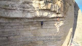 Edu Marin Beasts His Way Through A Mammoth 8c Roof Climb | Panaroma, Ep. 2